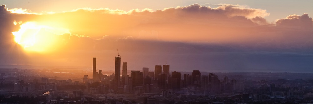 Good Morning Brisbane by Martin Canning