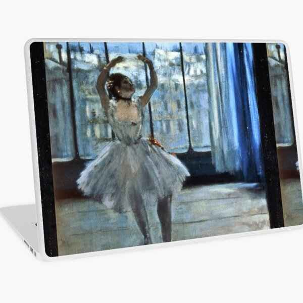 Edgar Degas - Dancer In Front Of A Window Laptop Skin
