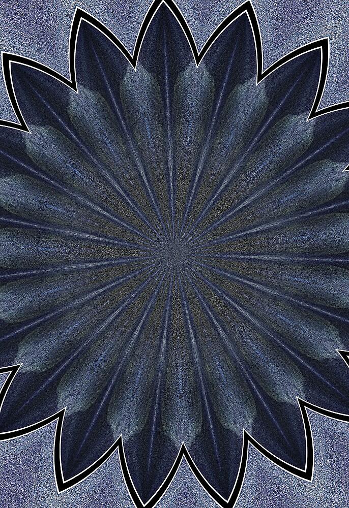 blue petal fixture by twistwashere