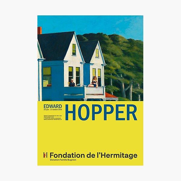 Edward Hopper - Second Story Sunlight - Minimalist Exhibition Art Poster Photographic Print