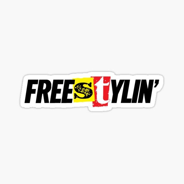 Freestylin' Sticker