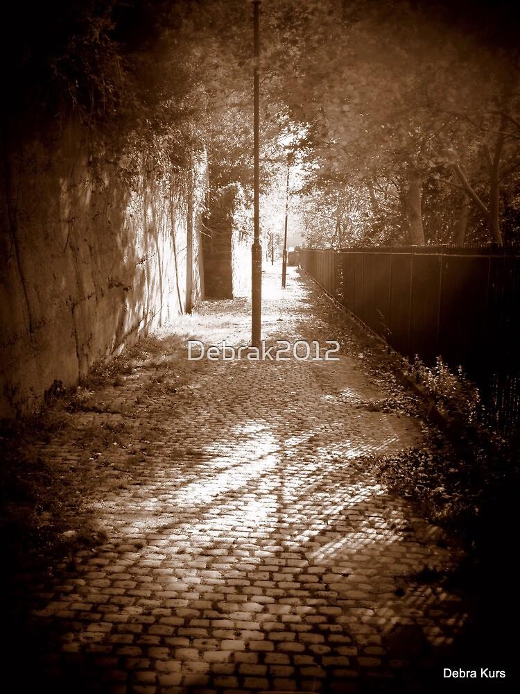Dingle Path in sepia by Debrak2012