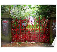 Strawberry Fields gates Poster