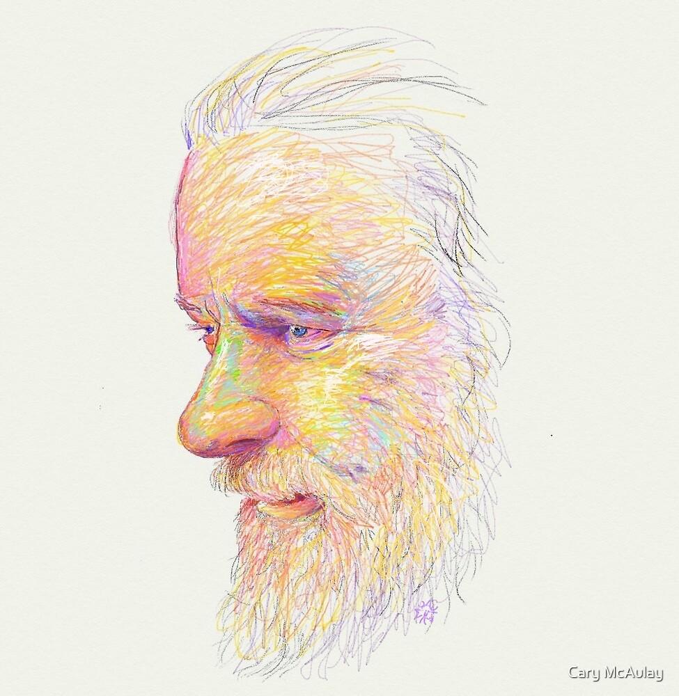 Self Portrait 2013 by Cary McAulay