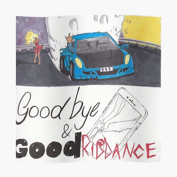 Poster Cover Juice WRLD Cover Goodbye and good Riddance Poster