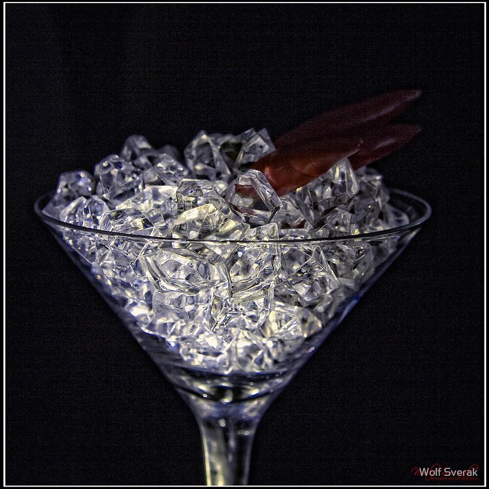 Diamond Martini with Chili - 2 by Wolf Sverak