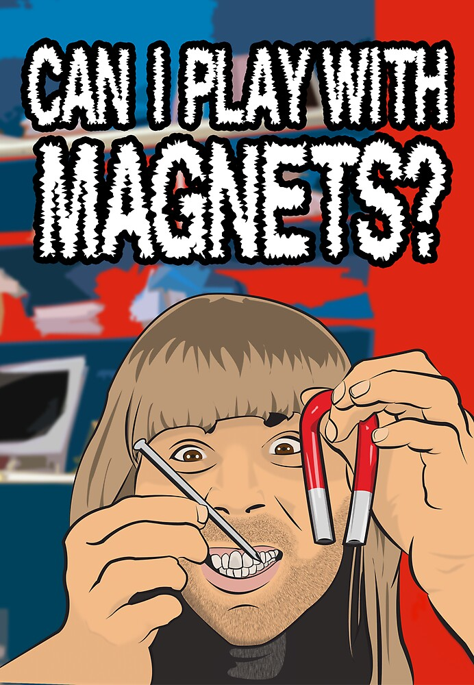 Can I Play With Magnets? by loudribs