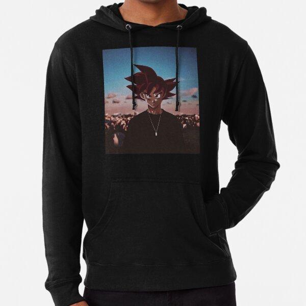 Límites de Goku $ Sudadera ligera con capucha