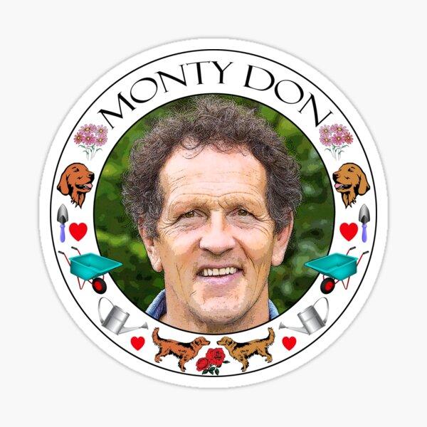 Monty Don  Sticker