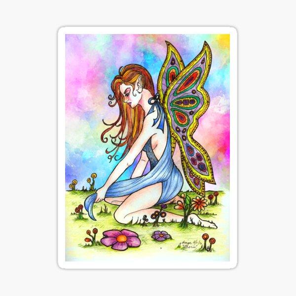 Rainbow Fairy Sticker