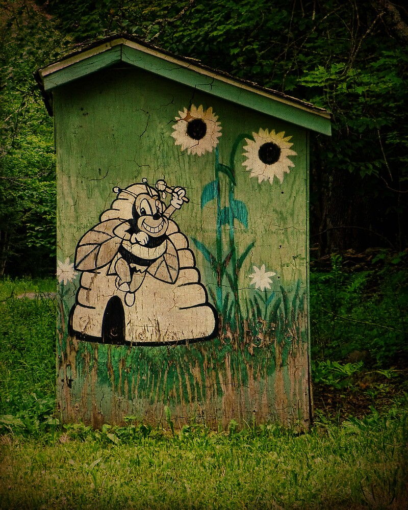 Beekeepers Outhouse by PineSinger