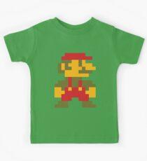 8 bit Mario V.2 Kids Tee