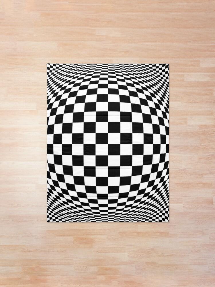 Alternate view of Optical Illusion, visual illusion, #OpticalIllusion, #visualillusion, #Optical, #Illusion, #visual Comforter