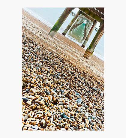 A Different View of The Pier Photographic Print