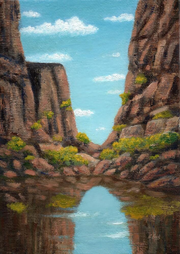 Canyon Cove by Gordon Beck