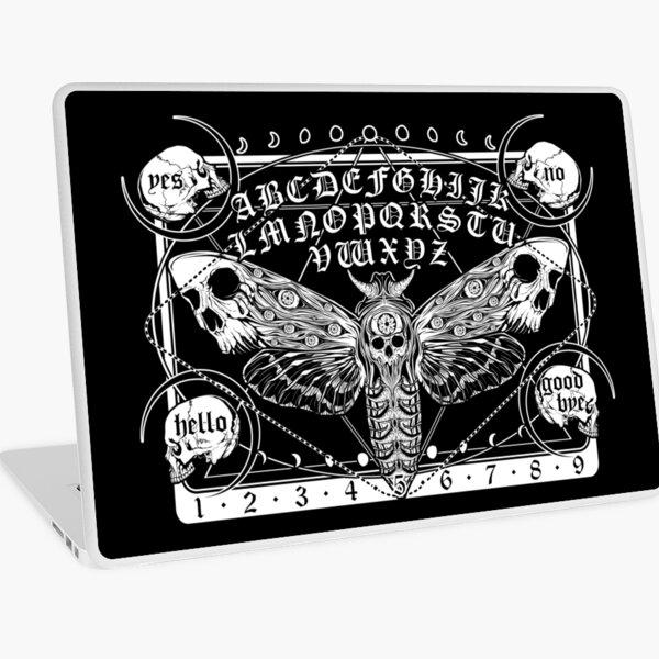 Death Moth Spirit Board Laptop Skin