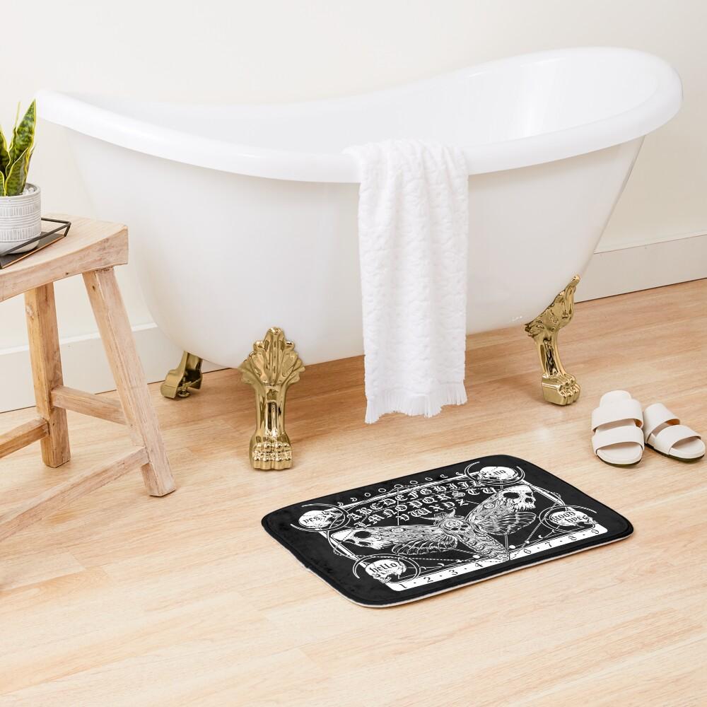 Death Moth Spirit Board Bath Mat