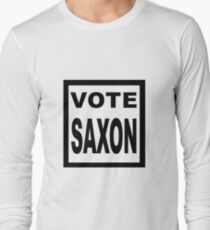 Doctor Saxon Vote Who T-Shirts