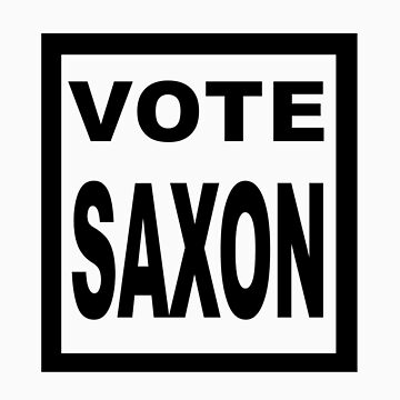 Vote Saxon! by DrQui