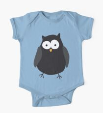 Quirky cartoon night owl Kids Clothes
