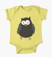 Quirky cartoon night owl One Piece - Short Sleeve