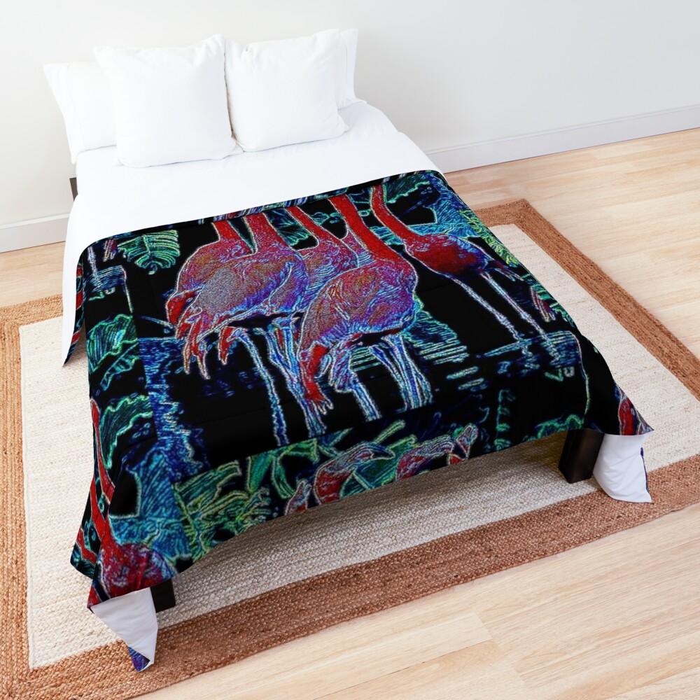 FLAMINGOS Comforter