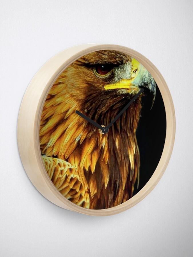 Alternate view of BIRD OF PREY Clock