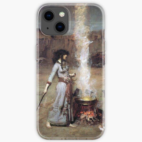 MAGIC CIRCLE - John William Waterhouse  iPhone Soft Case