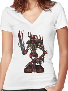 Slaughter Machine Women's Fitted V-Neck T-Shirt