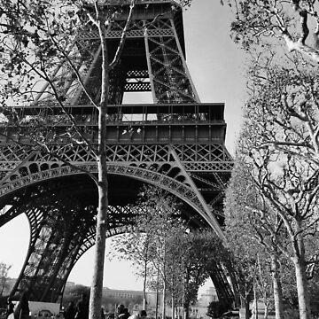 Eiffel Tower  by bethbatch20