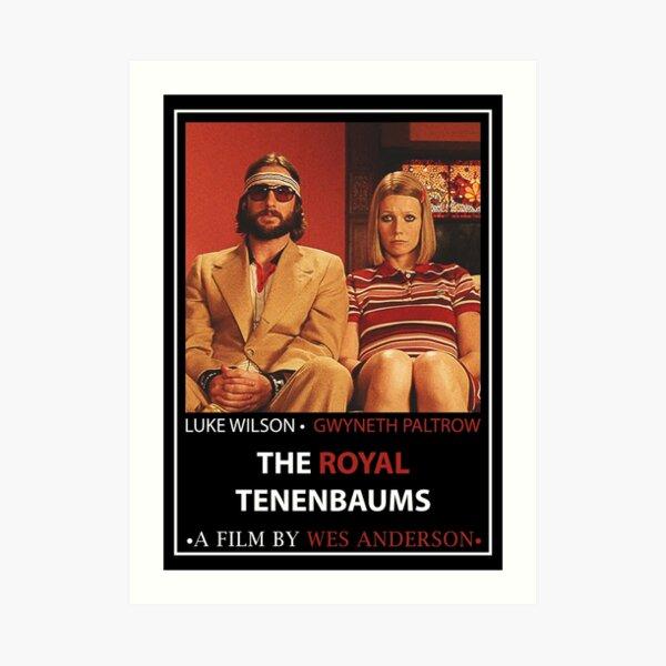The Royal Tenenbaums film Poster Art Print