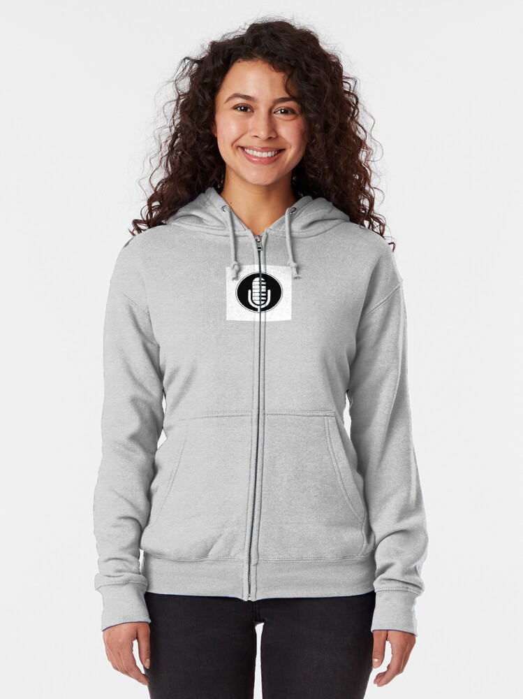Alternate view of Keyboard Chronicles Logo Merch Zipped Hoodie