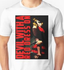 Devil with a Red Dress On T-Shirt