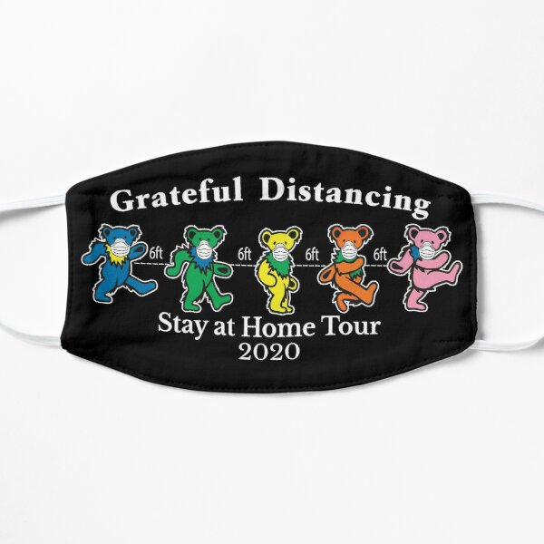 Grateful-Distancing-Bear-Stay-at-Home-Tour-2020 Mask