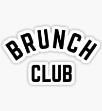 BRUNCH CLUB Sticker