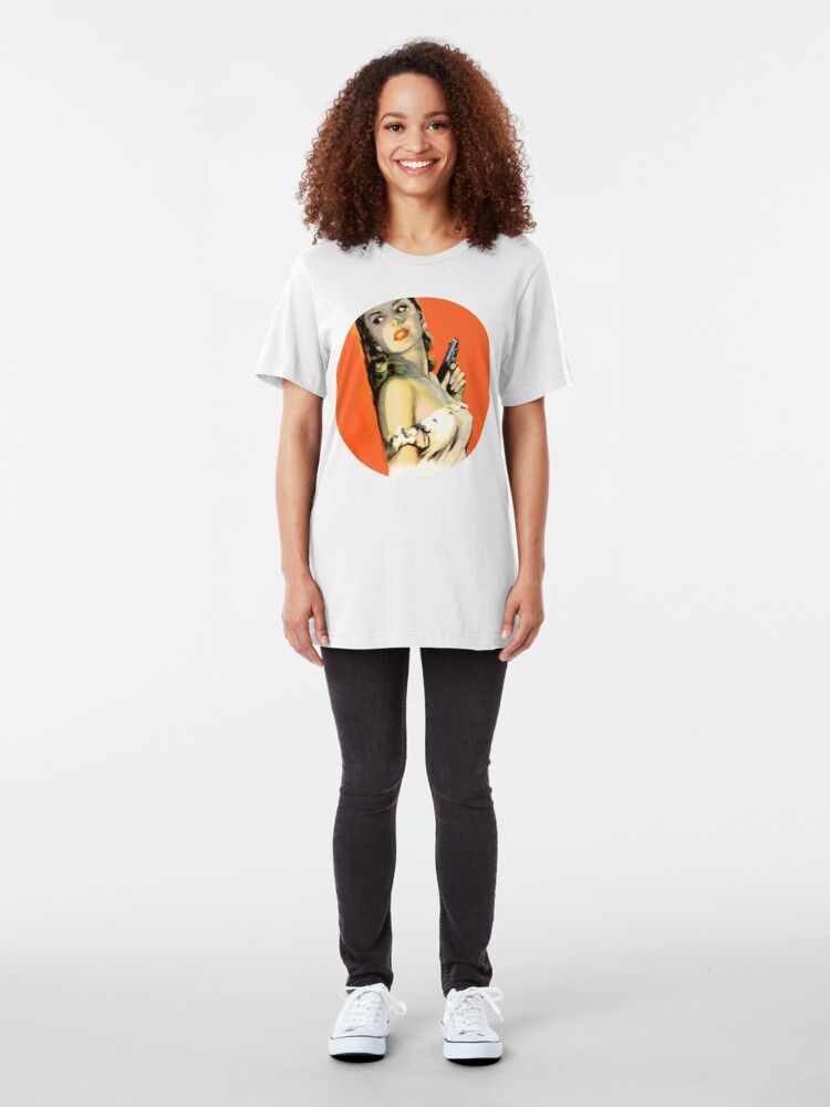Alternate view of Fatal Femme Fatal Slim Fit T-Shirt