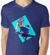 Riku - Kingdom Hearts: Chain of Memories Mens V-Neck T-Shirt