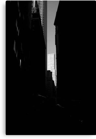 Downtown New York 04 -light at the end of the tunnel  by carlosdavid