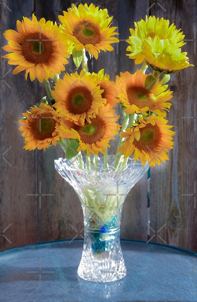 Sunny Flowers by Heather Friedman