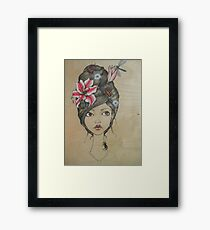 Beauty and the Bugs Framed Print