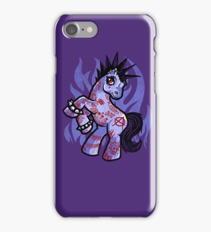 My Punkrock Pony iPhone Case/Skin