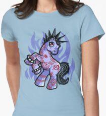 My Punkrock Pony Women's Fitted T-Shirt