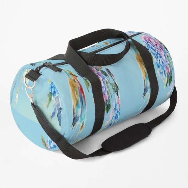 Prettily Perched Duffle Bag