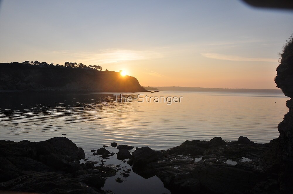 SUNRISE OVER CARLYON BAY by The-Stranger