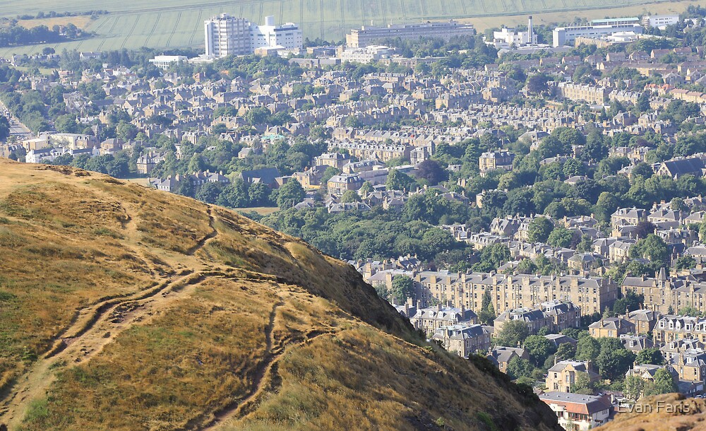 Over Edinburgh by Evan Faris