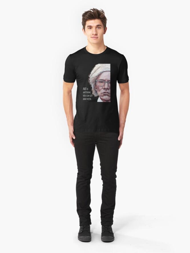 Alternate view of Mr. Warhol Slim Fit T-Shirt