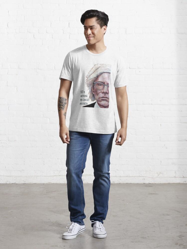 Alternate view of Mr. Warhol Essential T-Shirt