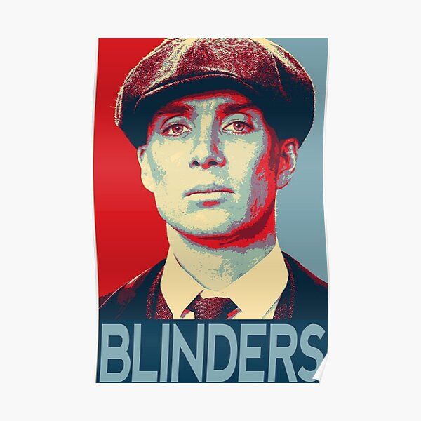 Peaky Blinders / Thomas Shelby / Cillian Murphy Poster
