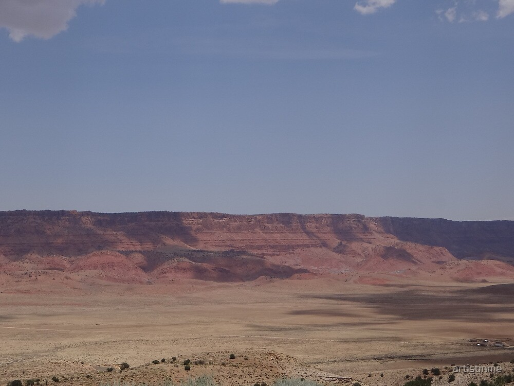 Enroute to the Grand Canyon by artistinme