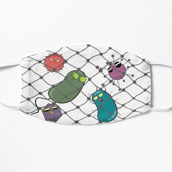 Pathogens in a Net Mask